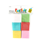 Playside Creations, Tissue Squares, Multi-Pack, 1.5 x 1.5 Inches, Assorted Colors, 6000 Count