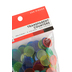 The Brainery, Transparent Counters, 250 Counters, 3/4-Inch, Assorted Colors, Ages 4 and up