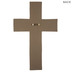 Bless This Home Wall Cross, Resin, White, 13 1/4 x 8 1/2 x 3/4 inches