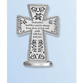 Abbey and CA Gift, Godmother Standing Cross, 3 inches