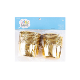Bright Ideas, Foil Candy Cups, Gold, 18 count