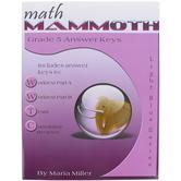 Math Mammoth, Grade 5 Answer Key, Light Blue Series by Maria Miller, Paperback, Grade 5