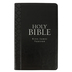 KJV Holy Bible, Thumb Indexed, Imitation Leather, Black