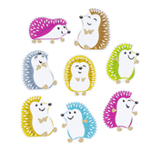 TREND enterprises, Inc., Colorful Hedgehogs Mini Accents Variety Pack Cutouts, 3 Inches, 36 Pieces