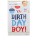 Momenta, Birthday Boy Iron On Applique, DIY, 7 Piece Set