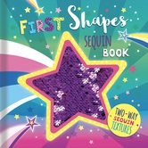 First Shapes: A Sequin Book, by Sarah Wade, Board Book