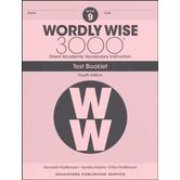 Wordly Wise 3000 4th Edition Test Booklet 9, Paperback, Grade 9