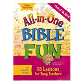 All-in-One Bible Fun for Preschool Children: Fruit of the Spirit Activity Book, Ages 3-5