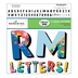 Colorfetti Collection, Dual Pattern Bulletin Board Letters, Upper and Lowercase, 4 Inches, Assorted Colors, 179 Pieces