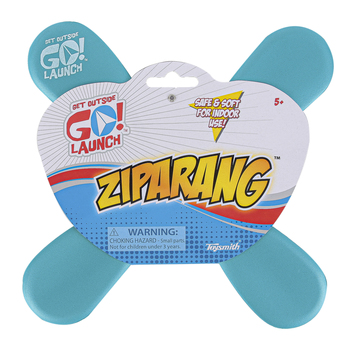 Toysmith, Ziparang Boomerang, Foam, 10 1/2 inches, Ages 5 & Older