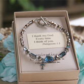 Collectables America, I Thank God Every Time I Think of You, Beaded Bracelet