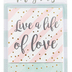 Christian Art Gifts, Live a Life of Love Magnet Set, 2 1/2 inches Each, 1 Each of 3 Designs
