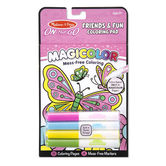 Melissa & Doug, On the Go Magicolor Friends and Fun Coloring Pad, Ages 3 to 7 Years, 18 Pages