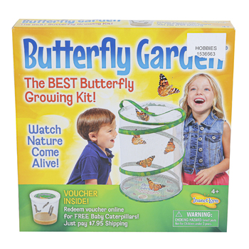 Insect Lore, Original Butterfly Garden Kit, Ages 4 and Older