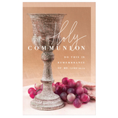 Salt & Light, Holy Communion Church Bulletins, 8 1/2 x 11 inches Flat, 100 Count