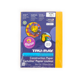 """Pacon, Tru-Ray Sulphite Construction Paper Pack, Gold, 50Ct, 9""""X12"""""""