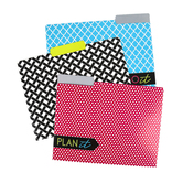 Isabella Collection, File Folders, 3 Assorted Designs, Multi-Colored, 12 Count