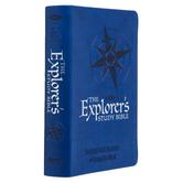 NKJ Explorer's Study Bible, Duo-Tone, Blue