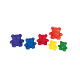 Three Bear Family Rainbow Set (3 Sizes 6 Colors)