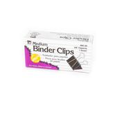 Charles Leonard, Binder Clips, Black, 12 Count