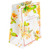 DaySpring, Be Blessed Floral Gift Bag with Tissue, Yellow and Cream, 7 3/4 x 9 3/4 x 4 3/4 inches