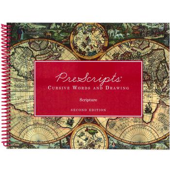 PreScripts Cursive Words and Drawing Scripture, Grades K-5