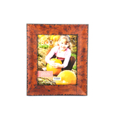 Wide Profile Veneer Photo Frame, 8 x 10 inches, Brown