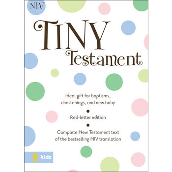 NIV Tiny Testament Bible, Multiple Styles Available