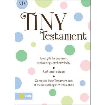 NIV Tiny Testament Bible, Imitation Leather, Pastel Blue