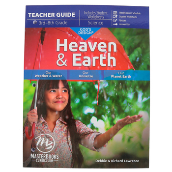 Master Books, God's Design for Heaven and Earth Teacher Guide, Paperback, Grades 3-8