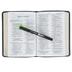 ESV Large Print Compact Bible, Buffalo Leather, Deep Brown