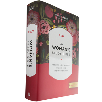 NKJV Woman's Study Bible: Fully Revised, Hardcover