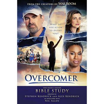 Overcomer Bible Study Book, by Stephen Kendrick, Alex Kendrick, and Nic Allen, Paperback