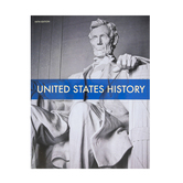 BJU Press, United States History Student Text, 5th Edition, Paperback, Grade 11