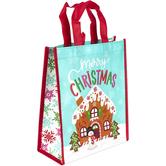 Renewing Faith, Merry Christmas Medium Tote Bag, 10 x 4 x 12 inches