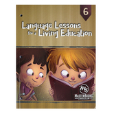Master Books, Language Lessons for a Living Education 6, Paperback, Grade 6