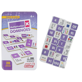 Junior Learning, Match & Learn Multiplication Dominoes, 28 Pieces, Ages 7 & Older