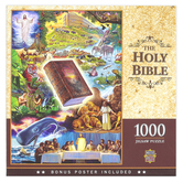 MasterPieces, Holy Bible Puzzle, 1000 Pieces, 19 1/4 x 26 3/4 inches