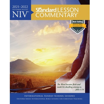 NIV Standard Lesson Commentary 2021-2022, by David C Cook, Paperback