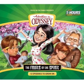 Pre-buy, Adventures In Odyssey, The Fruit of the Spirit, by Focus On The Family, CD