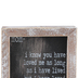 Adams & Co., Mom Framed Sign, Wood, Black and White, 5 x 5 x 1 1/2 inches