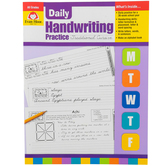 Evan-Moor, Daily Handwriting Practice Traditional Cursive, Teacher's, 112 Pages, Grades K-6