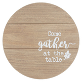 Gather At The Table Lazy Susan, Wood, 15 inches