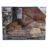 Sunny Days, Elite Force Action Figure and Moving Missile Launch Pad, 2 Pieces, Ages 4 and Older