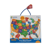 Learning Resources, Magnetic U.S. Map Puzzle, Ages 4 Years and Older, 44 Pieces