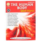 Carson-Dellosa, Human Body Quick Starts Workbook, 64 Pages, Grades 4-9