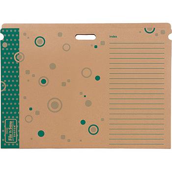 File 'n Save System® Chart Storage Box Sturdy Folder