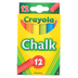 Crayola, Chalk Set, 12 Pieces, 2 Each of 6 Colors