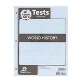 BJU Press, World History Tests Answer Key, 5th Edition, Grade 10