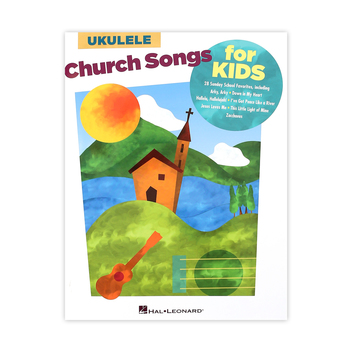 Church Songs For Kids For Ukulele Songbook, by Hal Leonard, Paperback